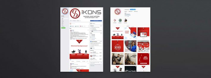 ikons social media