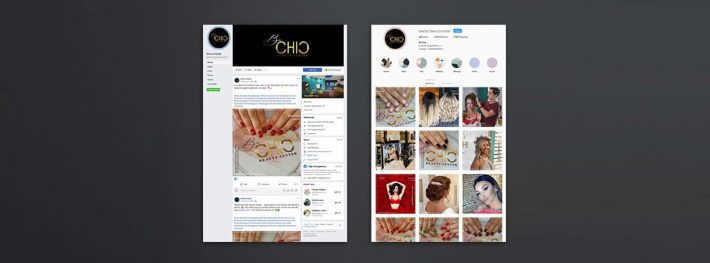 bechic beauty center social media